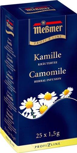 Preisvergleich Produktbild Meßmer ProfiLine Kamille 25 x 1,5 g, 3er Pack (3 x 38 g)