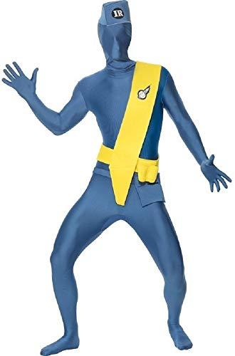 s Jahre Thunderbirds 2. Skin Overall Body TV Kostüm Kleid Outfit - Blau, Blau, Medium / 38