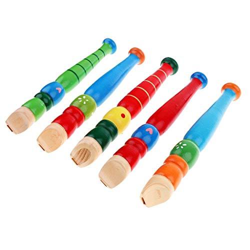 Spielzeug Klarinette Bunt 50 cm Kunsstoff mit Notenblatt Kinder Klarinette gelb Musik & Instrumente