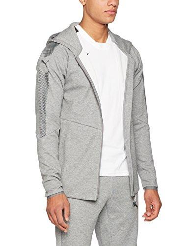 Puma Sudadera Casual con Capucha para Hombre de la Marca, Modelo Ascension, Hombre, Color Gris Medio, tamaño XX-Large