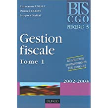 Gestion fiscale, tome 1 : Processus 3