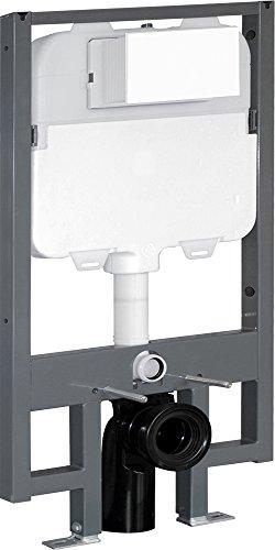 Fominaya ce-alba-i WC Rack Befestigungs-8cm, ohne Druckschalter)