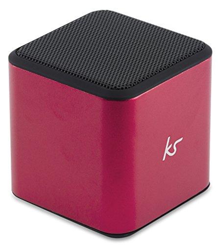 KitSound Cubo Altoparlante Universale Wireless Bluetooth Portatile con Jack 3,5mm, Ros