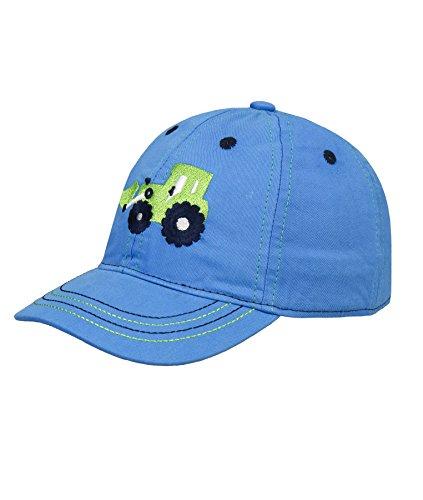 Döll Jungen Mütze Baseballmütze 1816200524, Blau (Brilliant Blue 3033), 55 (Kinder Hüte Für Den Sommer)