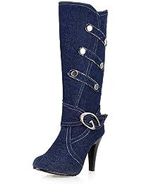 ccdc0fdd49a147 Suchergebnis auf Amazon.de für  blauer jeansstoff  Schuhe   Handtaschen