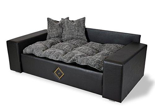 Hundesofa Hundebett Katzenbett DOG & CAT -NEU- XXL Kunstleder Luxus Couch - 5