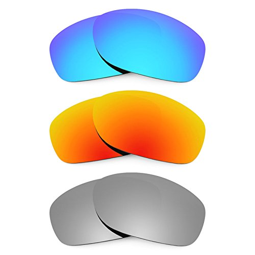 Preisvergleich Produktbild Revant Ersatzlinsen für Oakley Pit Bull Polarisiert 3 Paar Kombipack K014