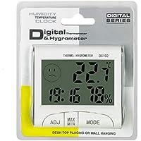 Mini Termómetro Digital Higrómetro Termómetro Medidor de Humedad Hogar Medidor de Temperatura de Habitación Herramientas de