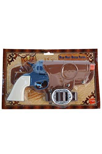 Smiffys Unisex Western Wasserpistole mit Halfter und Gürtel, ()