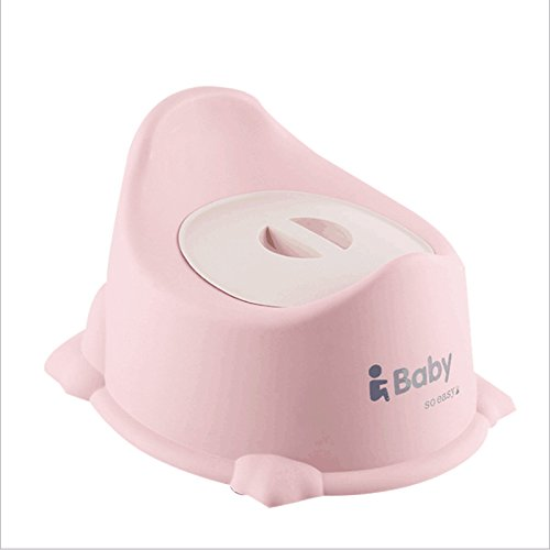 JZM Baby-WC-Toilette-männliches Und Weibliches Baby-Kind-Toiletten-Kind-tragbarer Urin-Topf-Topf-Schemel,Pink