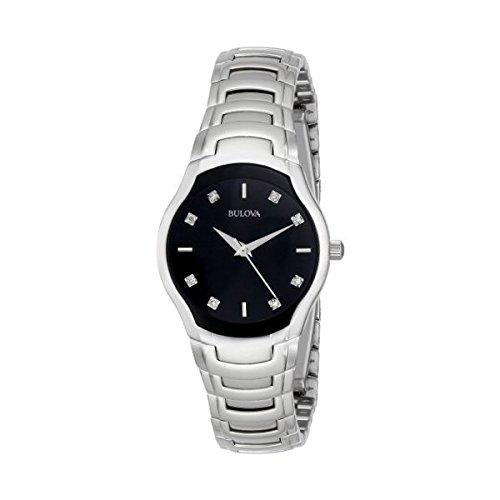 Bulova Damas Reloj de Pulsera con Diamantes 96P146