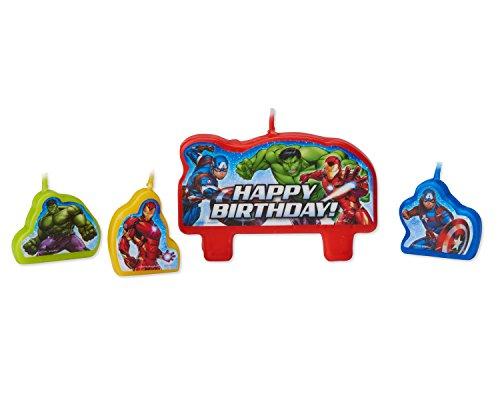 Velas de cumpleaños de los Avengers de la Marvel