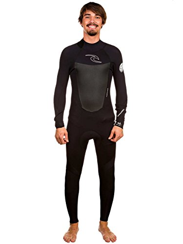 Rip Curl Dawn Patrol 4/3mm GBS Back Zip Steamer Wetsuit BLACK WSM4EM Wetsuit Sizes - Small thumbnail