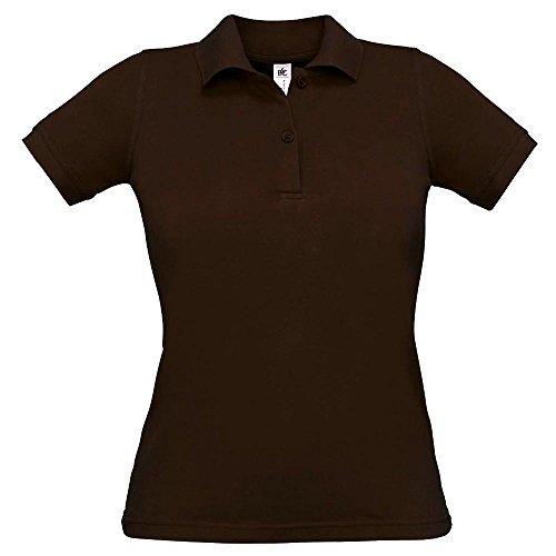 B&C - Ladies Poloshirt 'Safran' Brown