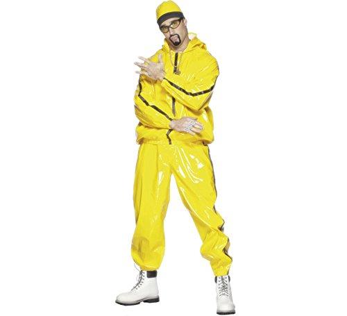 Imagen de disfraz de rapero amarillo o de ali g para hombre