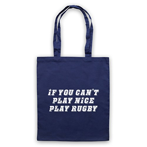 Se Non Puoi Giocare A Giocare A Rugby Divertente Rugby Slogan Umhangetaschen Ultramarinblau