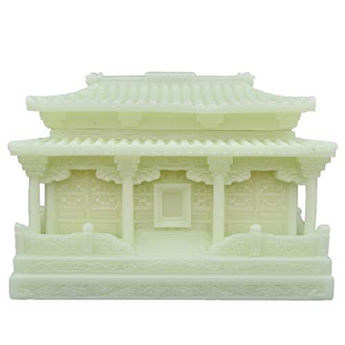 Zmsdt Cinerary Casket Hand Geschnitzte Marmor Shi Yu Qing Palace Männlich Weiblich Große Kapazität Cinerary Casket