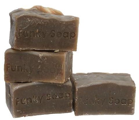1 pc Coffee Shampoo Bar for Brown/Dark Hair 100% Natural Handmade aprox.120g