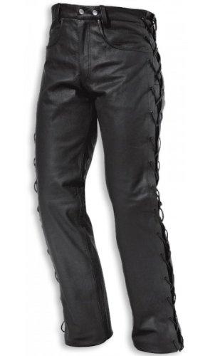 Held LACE Leder Jeans - Farbe: SCHWARZ, Größe: 38 (Lace Leder Jeans)