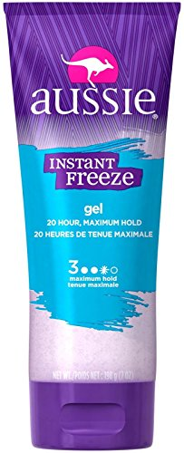 Maximum Hold Gel (Aussie Instant Freeze Sculpting Gel 205 ml Maximum Hold (Styling Produkte))