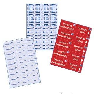 Preisvergleich Produktbild Etiketten-Set für Umzug und Achivierung, 186 tlg.