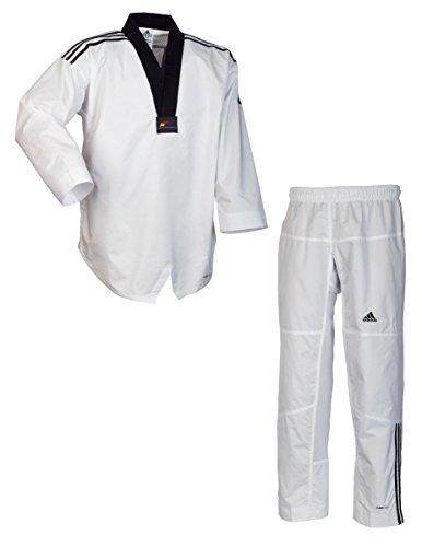 Adidas dobok da taekwondo adi-contest 3 collo nero 170
