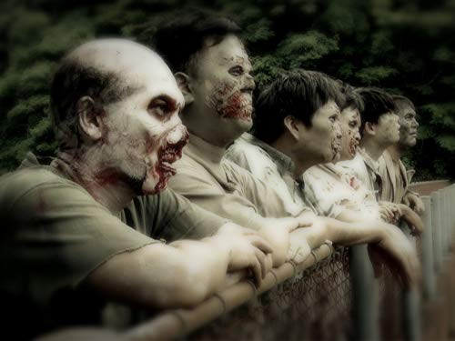 ROAD TO WALKING DEAD The First ever Audition for Comedians to Play a Zombie Role Storm Peak