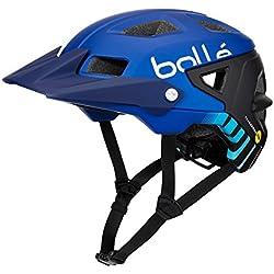 Bollé Trackdown MIPS Cascos Ciclismo, Unisex Adulto, Navy Gradient, 58-62 cm
