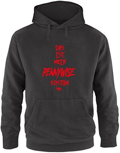 Stephen Pennywise Kostüm King - EZYshirt® Das ist mein Pennywise Kostüm Herren Hoodie