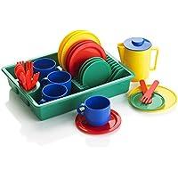 KiddyPlay 29 Piece Play Dishes Teaset