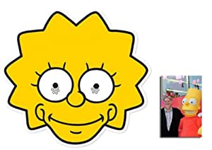 Mask Pack - Lisa Simpson Face Mask (The Simpsons ...