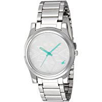 Fastrack Analog Silver Dial Women's Watch-NK6046SM01
