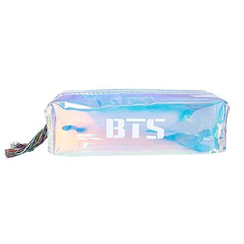 Skisneostype Kpop BTS Bangtan - Estuche para lápices, monedero, suministros escolares, BTS, color BTS 4
