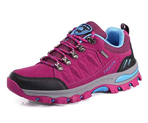 Eagsouni Wanderschuhe Herren Wasserdichte Damen Wanderstiefel Atmungsaktiv Turnschuhe Sportlich Bequem Outdoor Walking Wandern Trekking Anti-Rutsch Schuhe für Unisex