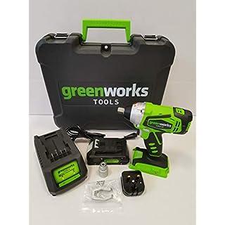 Greenworks Tools 24V Akku-Schlag 1/4–inkl. 2Ah Akku und Ladegerät