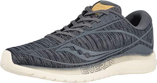 Saucony Herren Kinvara 10 Fitnessschuhe, Blau (Gunmetal Shade 41), 42.5 EU - Saucony Schuhe Blau