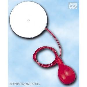 widmann-wdm2914s disfraz Adulto Unisex, Color Gris/Rojo, wdm2914s