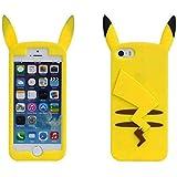 Funda de Gel Forma Pikachu de Espaldas Silicona Carcasa para Huawei Y635