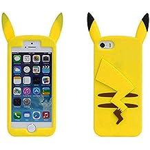 Funda de Gel Forma Pikachu de Espaldas Silicona Carcasa para Huawei P8 Lite