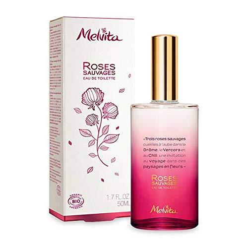 Melvita - Eau De Toilette Roses Sauvages 50Ml - Vendu Par Pièce - Livraison Gratuite En France