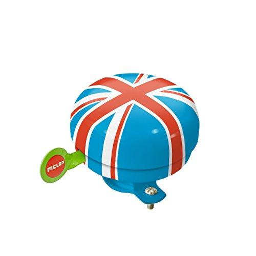Melon Union Jack Summer Sky Fahrradklingel, Print, One Size