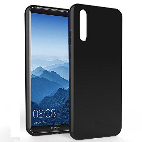 Etui-noir-pour-Coque-gel-de-Protection-en-TPU-Gel-UltimKaz-Huawei-P20-PRO-smartphone-2018-Accessoires-pochette-XEPTIO-Exceptional-case