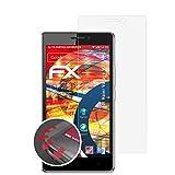 atFolix Schutzfolie passend für Haier Voyage V3 Folie, entspiegelnde & Flexible FX Bildschirmschutzfolie (3X)