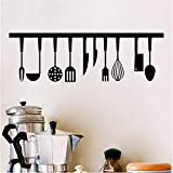 Qwerlp Cooking Food Cooker Wall Stickers Kitchen Room Decoration DIY Vinyl Adesivo De Paredes Home Decals Art Posters Wall Paper Poster