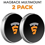 Magback Multimount by Tech Sense Lab Universal Magnetic Car Phone Holder (2 Pack)