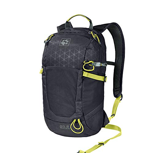 Jack Wolfskin Kingston 16 Rucksack Unisex, Ebony Grid, ONE Size