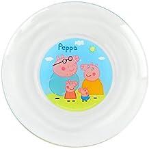 PP8106 Conjunto vajilla de cristal para niñas mod. PEPPA PIG