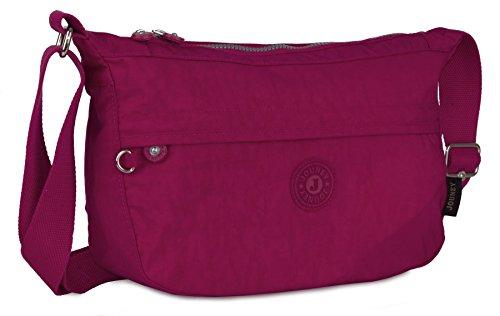 Big Handbag Shop, Borsa a tracolla donna Taglia unica Hot Pink