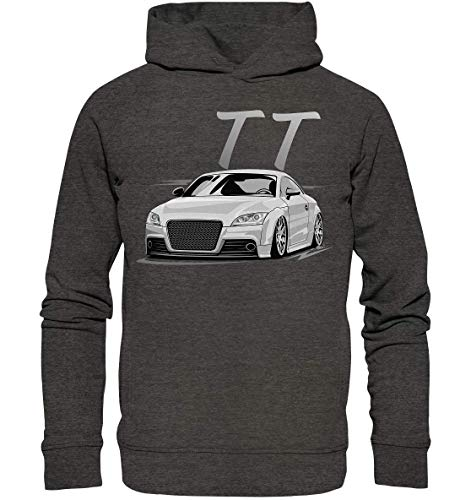 glstkrrn clothing TT TTS TTRS 8J Hoodie Felpa con Cappuccio