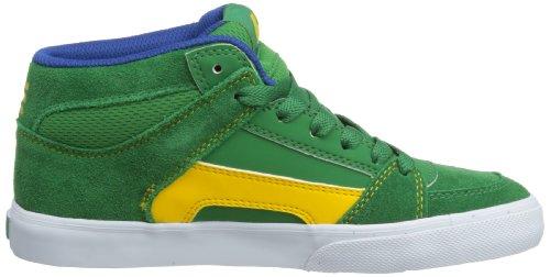 Etnies - Sneaker KIDS RVM VULC, Unisex - bambino Verde (Grün (GREEN/WHITE/GUM 313))